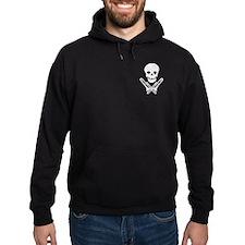 skull & trombones Hoodie (dark)