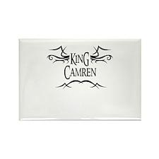 King Camren Rectangle Magnet