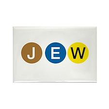 J E W Rectangle Magnet