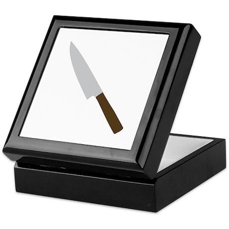 chef kitchen knife Keepsake Box