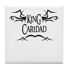 King Caridad Tile Coaster