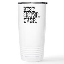 Best Sister Ever Travel Coffee Mug