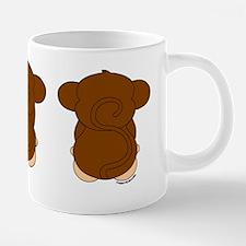 Monkey Hear See Spe... 20 oz Ceramic Mega Mug