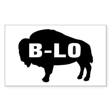 B-LO Rectangle Sticker