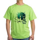 Bowling grandma Green T-Shirt