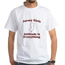Jersey Girls White T-shirt