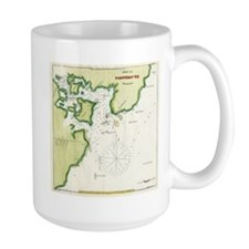 Map of Portsmouth NH in 1833 Mug
