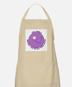 ANGEL PROTECTION PURPLE BBQ Apron