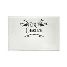 King Charlize Rectangle Magnet