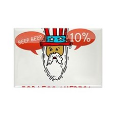 Cute 4th july Rectangle Magnet (100 pack)