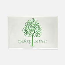 Tree Advocate Rectangle Magnet