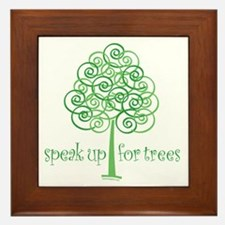 Tree Advocate Framed Tile