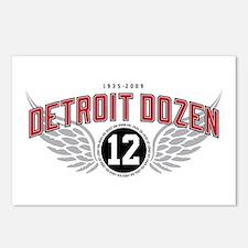 The Detroit Dozen Postcards (Package of 8)