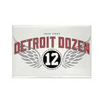 The Detroit Dozen Rectangle Magnet (10 pack)
