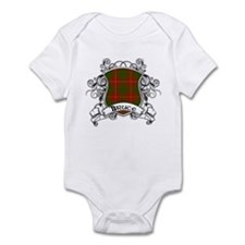 Bruce Tartan Shield Infant Bodysuit
