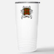 Bruce Tartan Shield Stainless Steel Travel Mug
