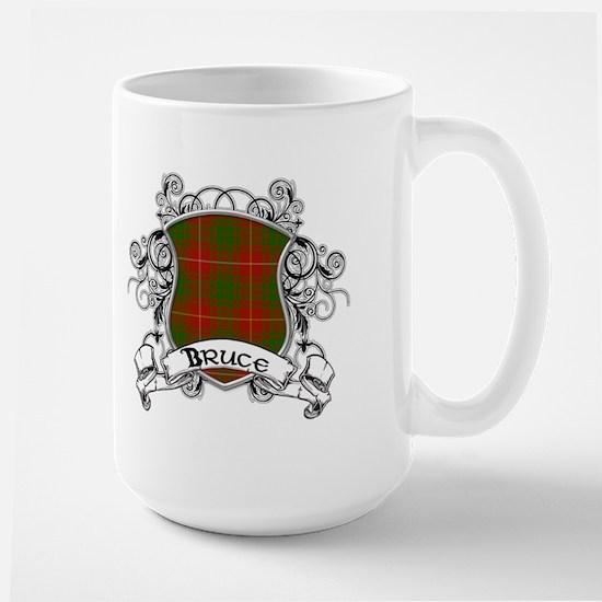 Bruce Tartan Shield Large Mug