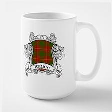 Bruce Tartan Shield Mug