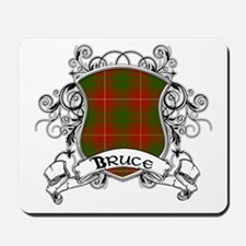 Bruce Tartan Shield Mousepad