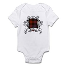 Brown Tartan Shield Onesie