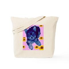 Pop Art Pup Tote Bag