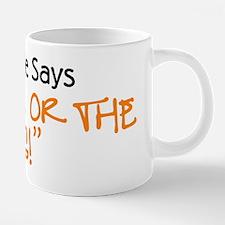 wifeordog_front.png 20 oz Ceramic Mega Mug