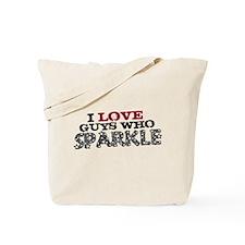 Guys Who Sparkle Tote Bag