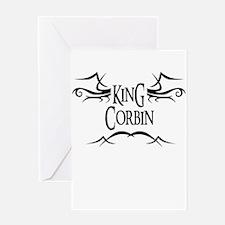 King Corbin Greeting Card