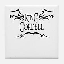 King Cordell Tile Coaster