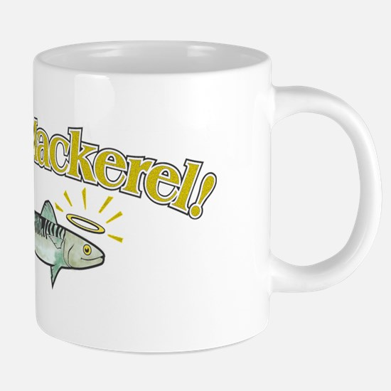 holy mackerel w.png 20 oz Ceramic Mega Mug