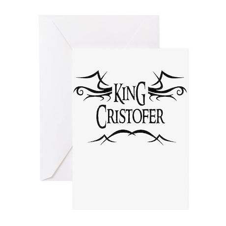 King Cristofer Greeting Cards (Pk of 10)