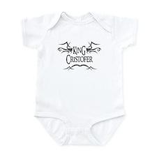 King Cristofer Infant Bodysuit