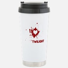 I Love Twilight Stainless Steel Travel Mug