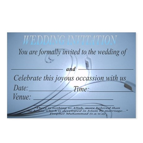 Wedding Invitation Package Of 8 By Ahlulbayt Shirts