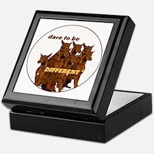pharaoh hound differnt Keepsake Box