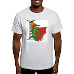 Dragon L Ash Grey T-Shirt