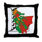 Dragon L Throw Pillow