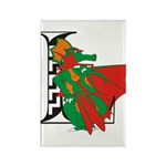 Dragon Rectangle L Magnet (10 pack)