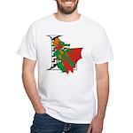 Dragon L White T-Shirt