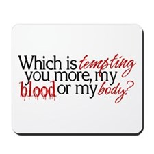 Twilight/New Moon Tempting Mousepad