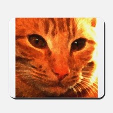 'Clyde the Ginger Cat' Mousepad