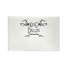 King Dallin Rectangle Magnet