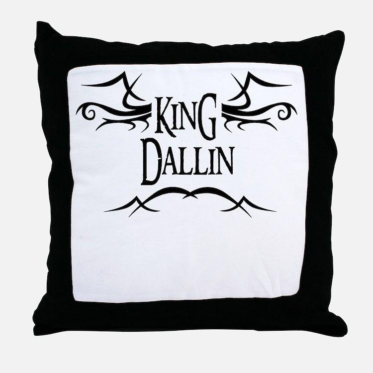 King Dallin Throw Pillow