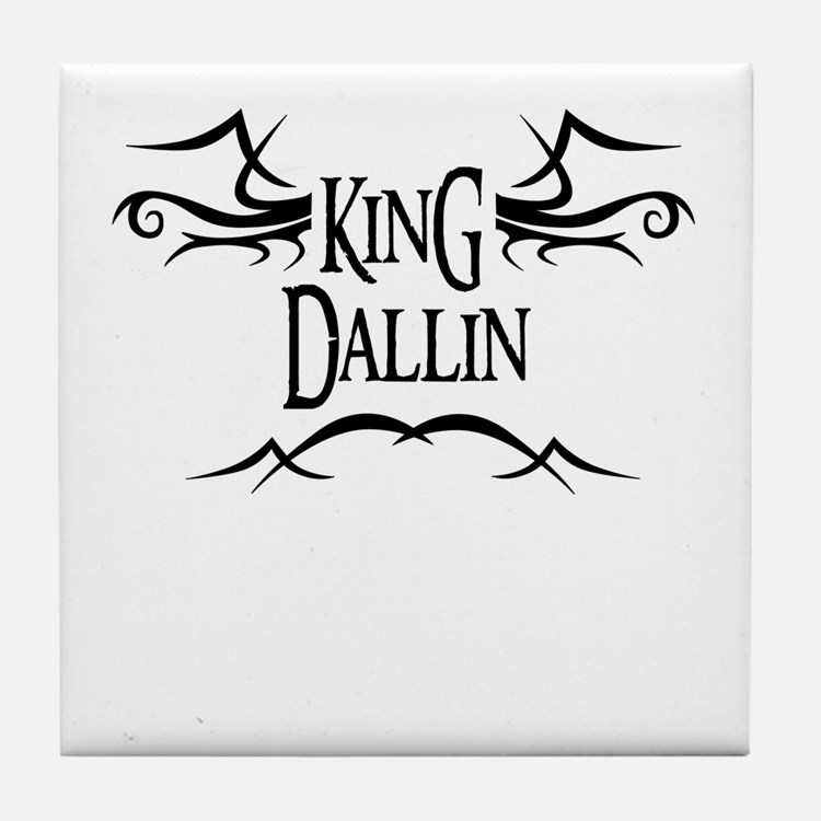 King Dallin Tile Coaster