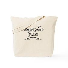 King Damian Tote Bag