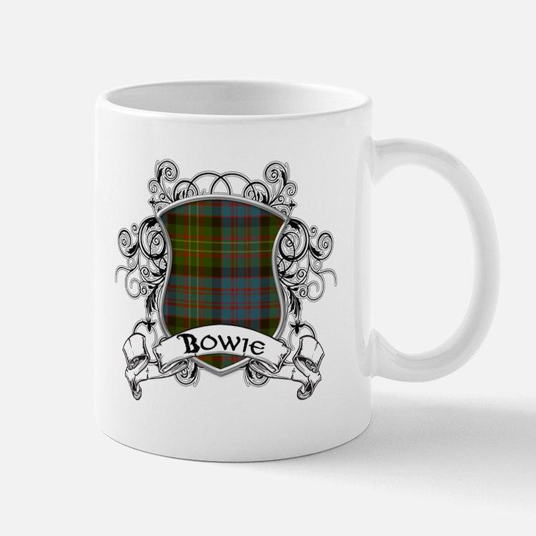 Bowie Tartan Shield Mug