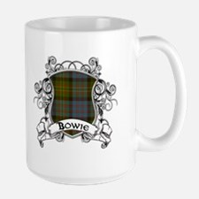 Bowie Tartan Shield Ceramic Mugs