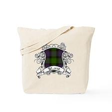 Blair Tartan Shield Tote Bag