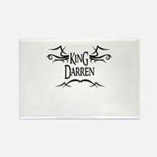 King Darren Rectangle Magnet