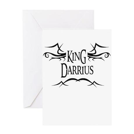 King Darrius Greeting Card